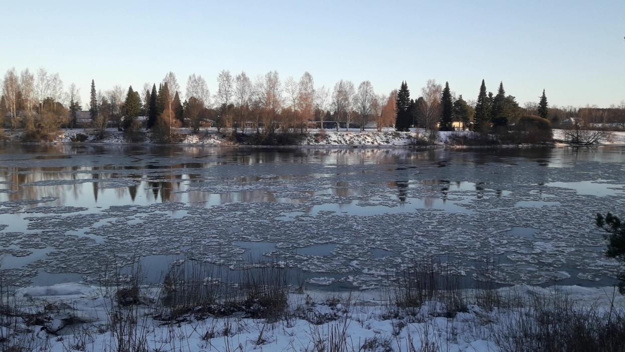 L'eau et la glace